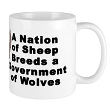 Wolves Bumper Sticker Mug