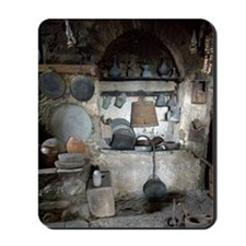 Greece, Meteora. Kitchen of Grand Meteor Mousepad
