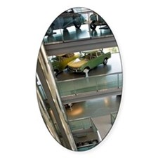 Interior of Zeithaus Auto Museumg.  Decal