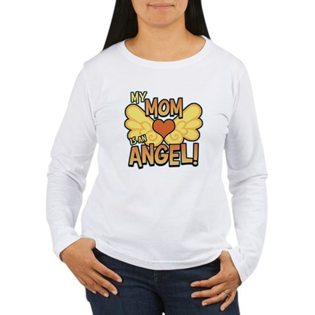 My Mom Angel Women's Long Sleeve T-Shirt