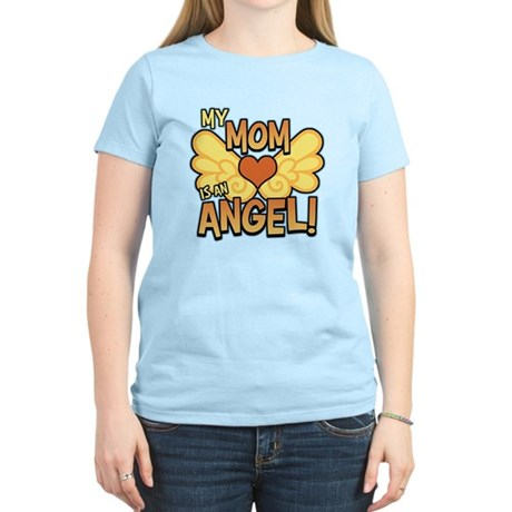 My Mom Angel Women's Light T-Shirt