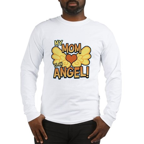My Mom Angel Long Sleeve T-Shirt