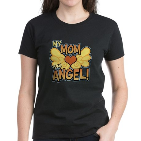 My Mom Angel Women's Dark T-Shirt