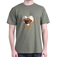 I love my puggle (orange) T-Shirt