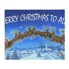 SANDERSON_HO HO HO Throw Blanket