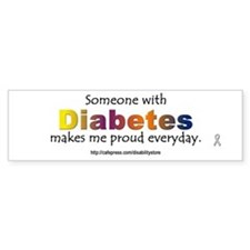 Diabetes Pride Bumper Bumper Sticker