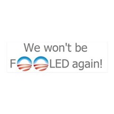 we wont be fooled again2 Wall Decal