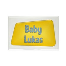 Baby Lukas Rectangle Magnet