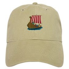 Viking Ship Baseball Cap
