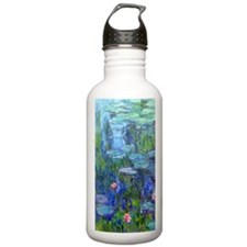 Journal Monet Lilies Water Bottle