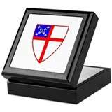 Episcopal Shield Keepsake Box