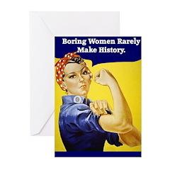 Boring Women Greeting Cards (Pk of 10)