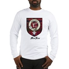 MacRae Clan Crest Tartan Long Sleeve T-Shirt