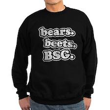 bearsbeets_dark Sweatshirt