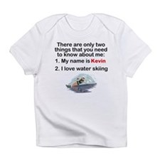 Two Things Water Skiing Infant T-Shirt