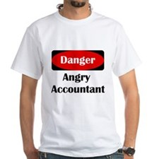 Danger Angry Accountant Shirt