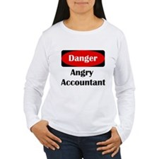 Danger Angry Accountant T-Shirt