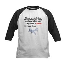 Two Things Flying Baseball Jersey