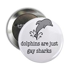 """dolphins final 2.25"""" Button"""
