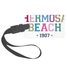 Hermosa Beach 1907 B Luggage Tag