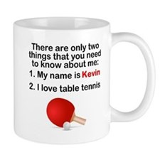 Two Things Table Tennis Mugs