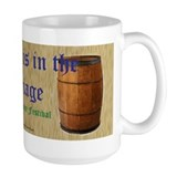 """The Ale is in the Carriage"" Mug"