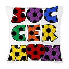 multi, Mom Woven Throw Pillow