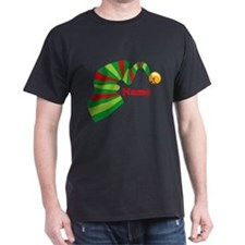 Personalized Elf Hat T-Shirt