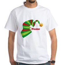 Personalized Elf Hat Shirt