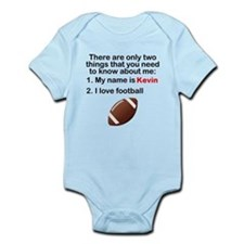 Two Things Football Body Suit