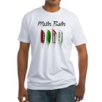 Master Baiter Fitted T-Shirt