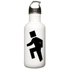 im shufflin black Water Bottle