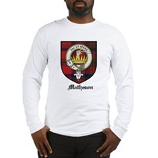 Matheson Clan Crest Tartan Long Sleeve T-Shirt