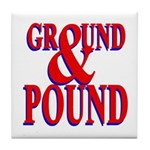 Ground & Pound Tile Coaster