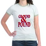 Ground & Pound Jr. Ringer T-Shirt