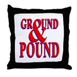 Ground & Pound Throw Pillow