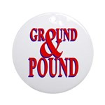Ground & Pound Ornament (Round)