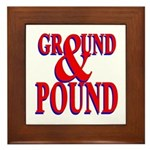 Ground & Pound Framed Tile