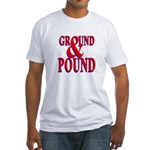 Ground & Pound Fitted T-Shirt