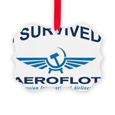 I survived aeroflot Picture Ornament