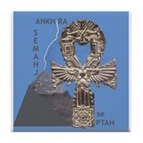 SMAI TAWI KHEMETIC Tile Coaster