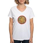 Louisiana Game Warden Women's V-Neck T-Shirt