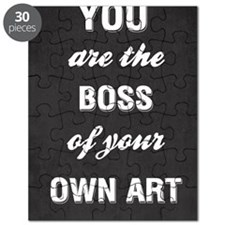 You Are The Boss Of Your Art Puzzle