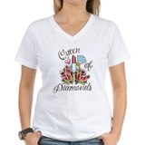 """Diamond lipstick"" V-Neck T-Shirt"