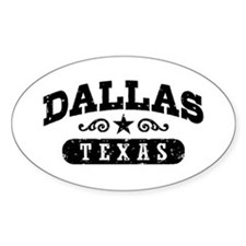 Dallas Texas Decal