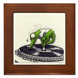 DJ Croc Music 90 Framed Tile