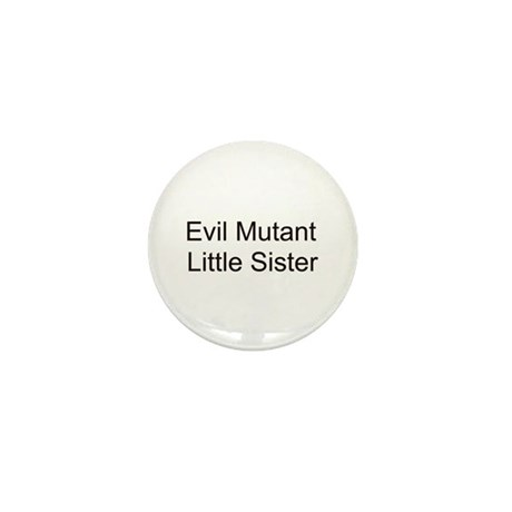 Evil Mutant Little Sister Mini Button