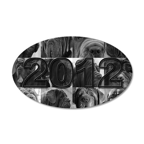 cover2012 copy 35x21 Oval Wall Decal