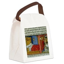 Saint Joachim leaves his wife. Co Canvas Lunch Bag