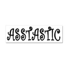 asstastic Car Magnet 10 x 3